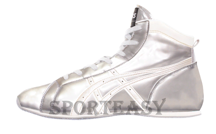 Asics Боксерки Low-Top Silver/White