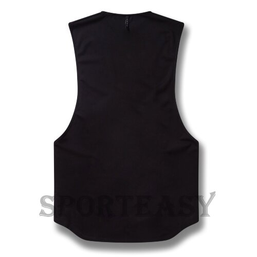 BOXRAW Майка Muscle SMRT-TEC Black