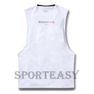 BOXRAW Майка Boxing Is Love White