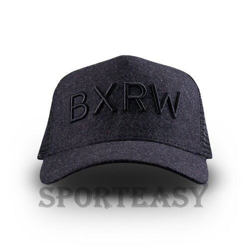BOXRAW Кепка Trucker Charcoal